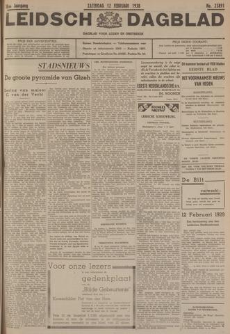 Leidsch Dagblad 1938-02-12