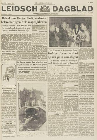 Leidsch Dagblad 1959-04-23