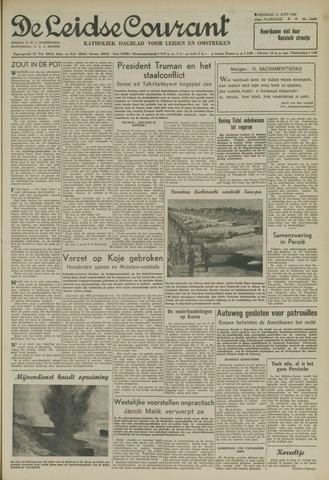 Leidse Courant 1952-06-11