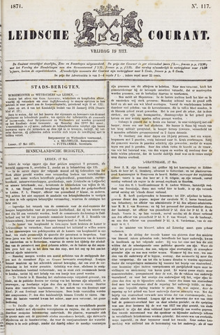Leydse Courant 1871-05-19