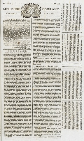 Leydse Courant 1824-04-21