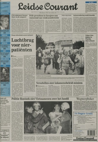 Leidse Courant 1992-08-25