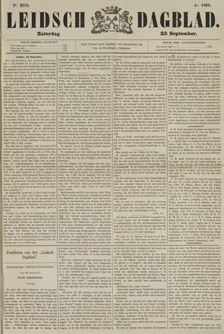 Leidsch Dagblad 1869-09-25