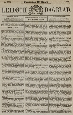 Leidsch Dagblad 1882-03-16