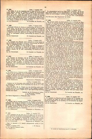 Handelingen van de Raad 1877-08-07
