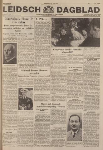 Leidsch Dagblad 1951-07-23