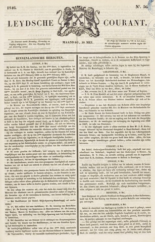 Leydse Courant 1846-05-11