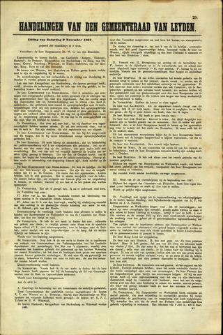 Handelingen van de Raad 1867-11-09