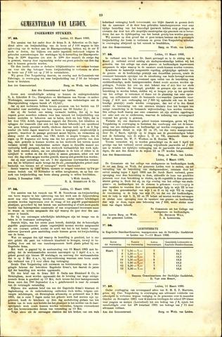 Handelingen van de Raad 1886-03-11