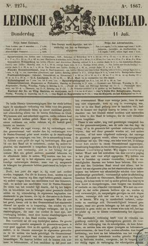 Leidsch Dagblad 1867-07-11