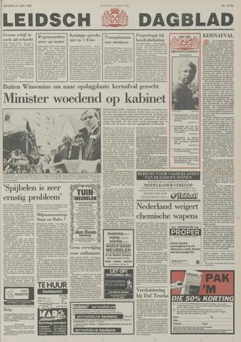 Leidsch Dagblad 1985-06-21