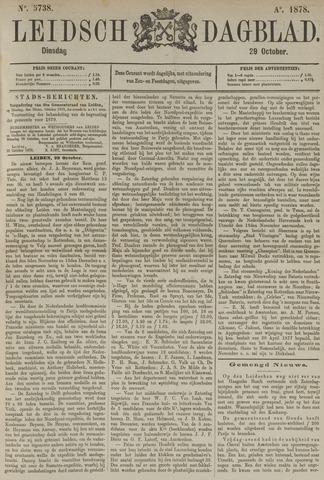 Leidsch Dagblad 1878-10-29