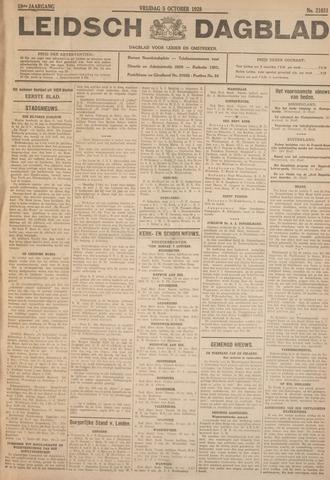 Leidsch Dagblad 1928-10-05
