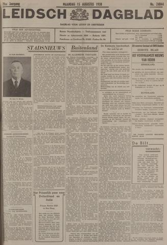 Leidsch Dagblad 1938-08-15