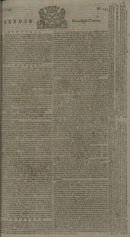 Leydse Courant 1740-11-28