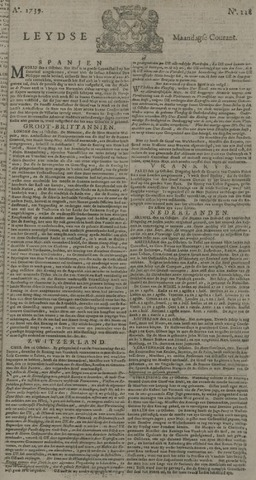 Leydse Courant 1739-10-26