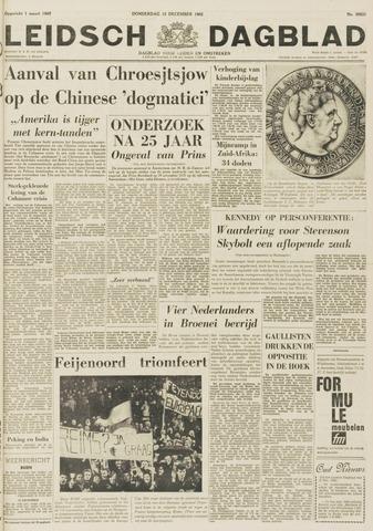 Leidsch Dagblad 1962-12-13