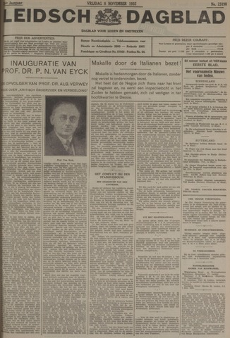 Leidsch Dagblad 1935-11-08