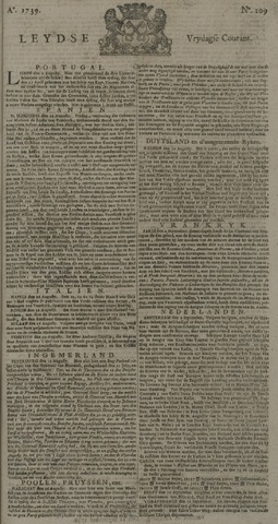 Leydse Courant 1739-09-14