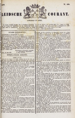 Leydse Courant 1879-04-29