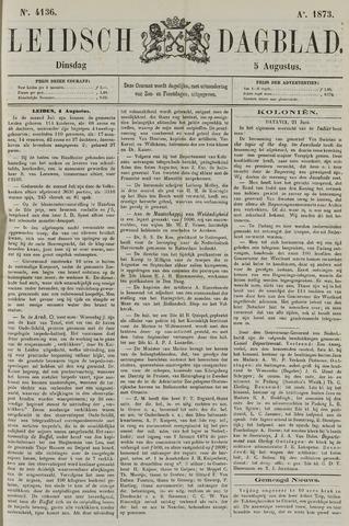 Leidsch Dagblad 1873-08-05