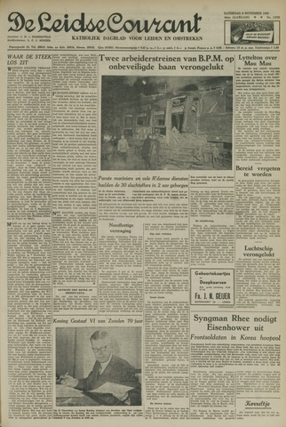 Leidse Courant 1952-11-08