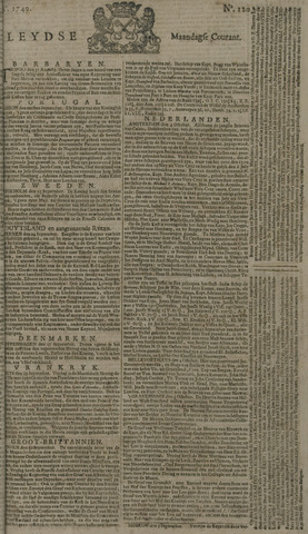 Leydse Courant 1749-10-06