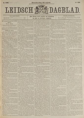 Leidsch Dagblad 1896-04-16