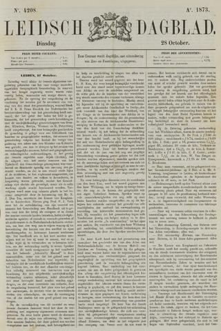 Leidsch Dagblad 1873-10-28