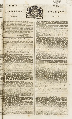 Leydse Courant 1844-04-26