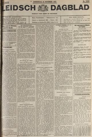 Leidsch Dagblad 1933-11-16