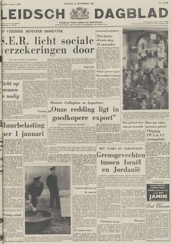 Leidsch Dagblad 1967-11-21