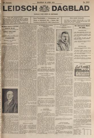 Leidsch Dagblad 1933-04-10