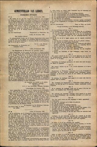Handelingen van de Raad 1881-12-27