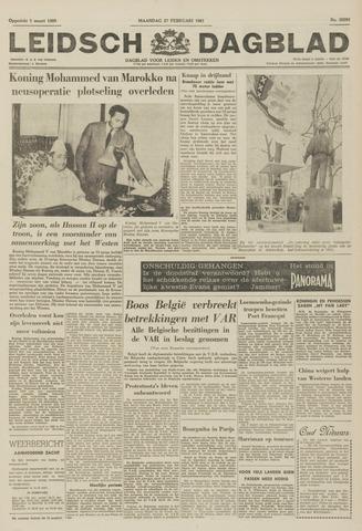 Leidsch Dagblad 1961-02-27