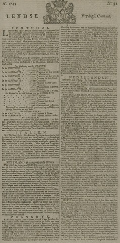 Leydse Courant 1749-08-01