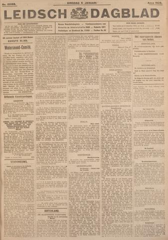 Leidsch Dagblad 1926-01-05