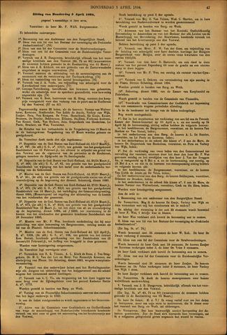Handelingen van de Raad 1894-04-05