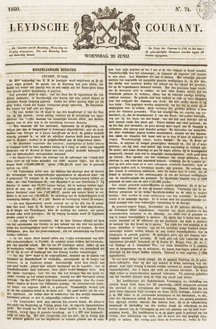 Leydse Courant 1860-06-20