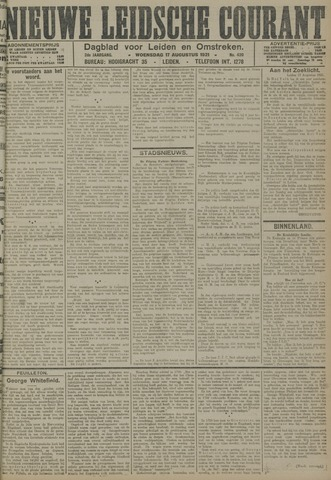 Nieuwe Leidsche Courant 1921-08-17