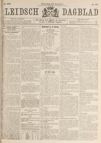 Leidsch Dagblad 1915-01-12
