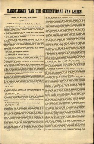 Handelingen van de Raad 1873-05-15