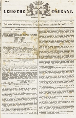 Leydse Courant 1871-03-07