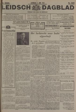 Leidsch Dagblad 1937-06-05