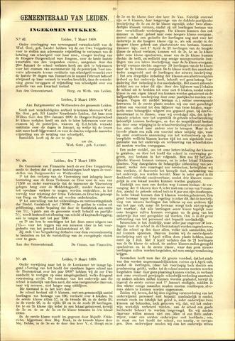Handelingen van de Raad 1899-03-07