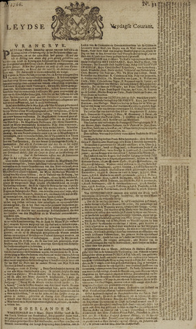 Leydse Courant 1766-03-14