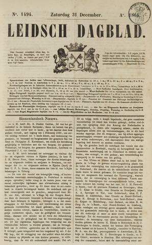 Leidsch Dagblad 1864-12-31