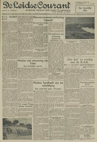 Leidse Courant 1950-04-22