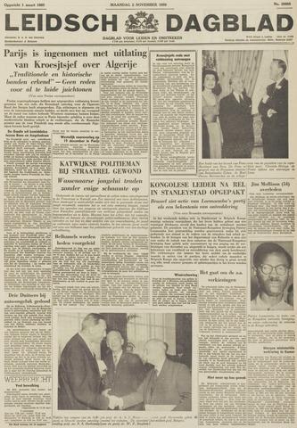Leidsch Dagblad 1959-11-02