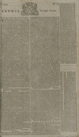 Leydse Courant 1745-11-05
